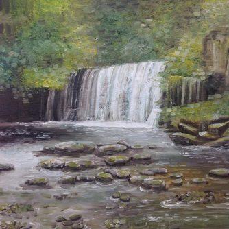 waterfall-near-ystradfellte