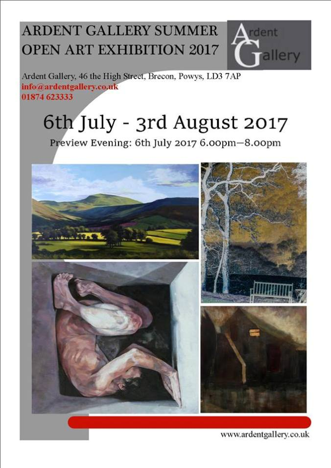 ARDENT GALLERY SUMMER OPEN EXHIBITION 2017 poster